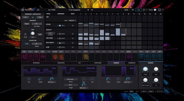 Pigments ist da! Arturia veröffentlicht einen neuen Wavetable-Synthesizer