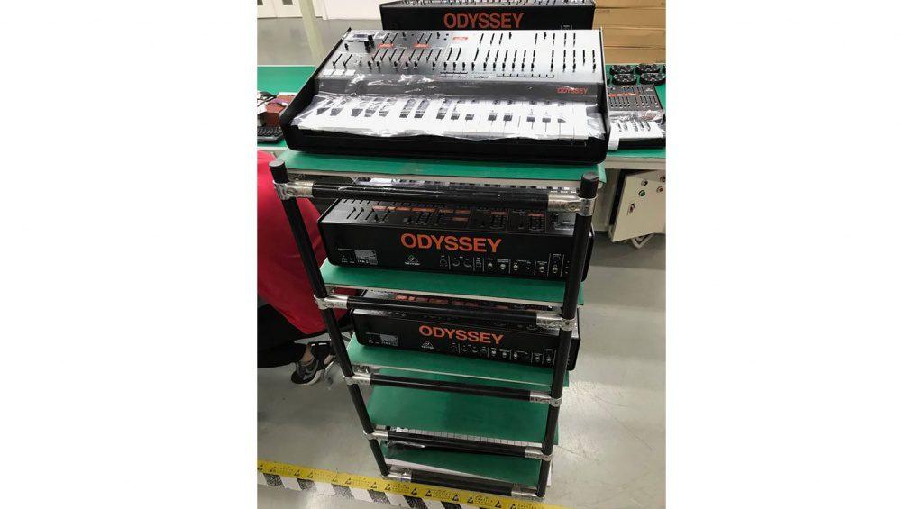 Behringer Odyssey Vorproduktion