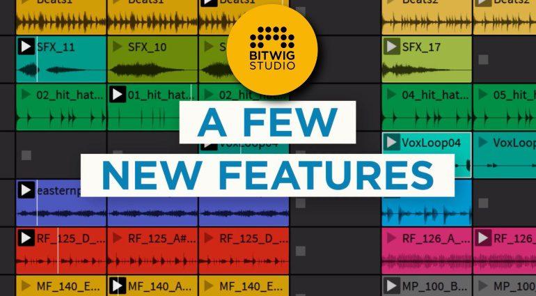 Bitwig Studio 2.5 ab sofort als Public Beta!