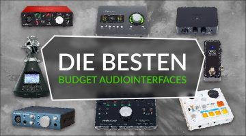 Die besten Budget USB Audio Interfaces Topliste Teaser