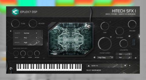 Effekt-Sounds im Synthesizer zum Schleuderpreis: Eplex7 DSP Hitech SFX1