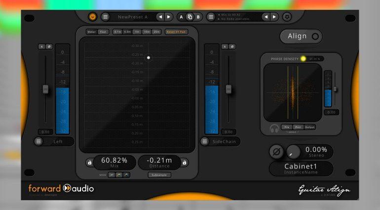 Forward Audio faGuitarAlign und eure Gitarren-Aufnahmen sind immer in Phase!