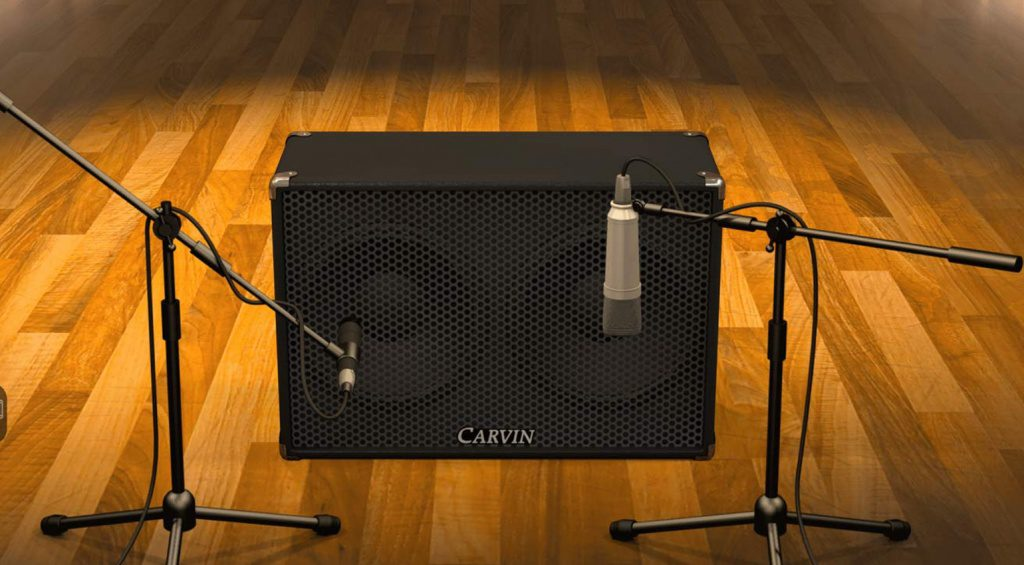 AmpliTube iOS 4.7 - Carvin - 2x12 V3M