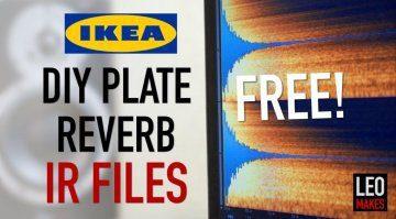 Ikea Plate Reverb Impulse Responses IR Free Kostenlos