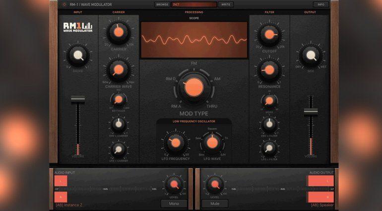 RM-1 Wave Modulator - ein vielseitiger Ringmodulator für das iPad