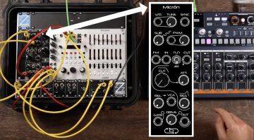 Olitronic Micron Synth Eurorack Modul