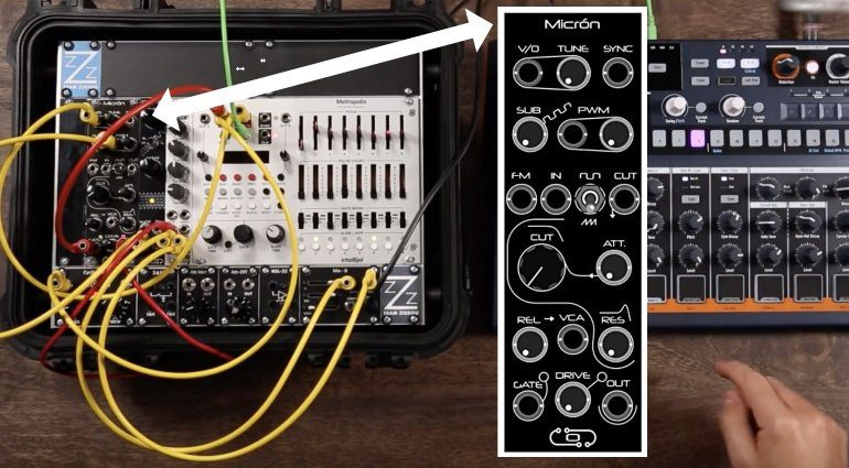 Olitronic Micron Synth Eurorack Modul