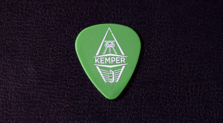 Plektrum von Kemper amps