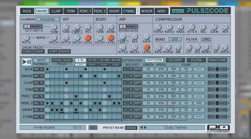 PulseCode bringt euch die Drum-Sounds der Retro-Maschinen zurück