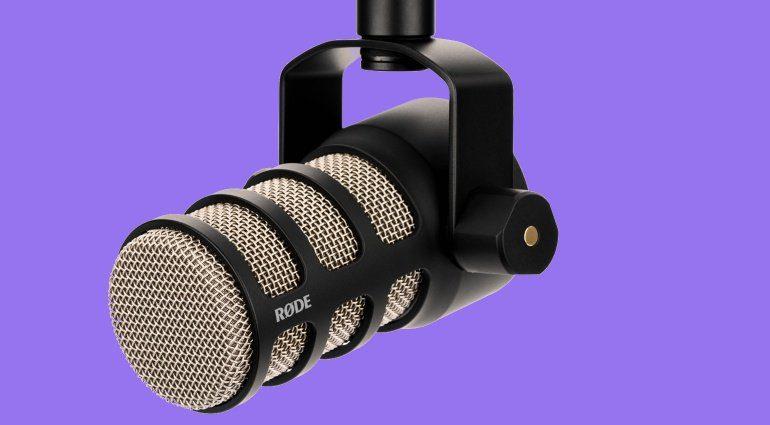 Rode PodMic Dynamischesw Mikrofon POdcast Sprecher