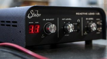 Suhr Reactive Load IR Attenuator Box Impulse Response POwer Soak