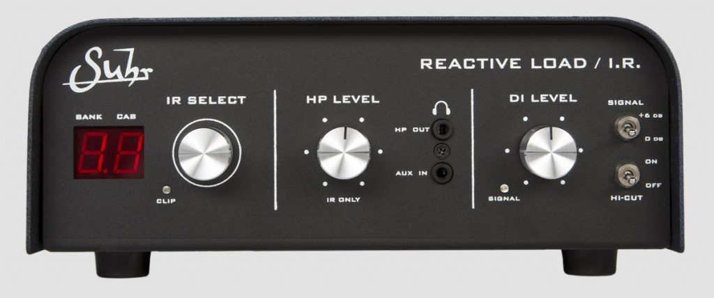 Suhr Reactive Load IR Attenuator Box Impulse Response POwer Soak Front