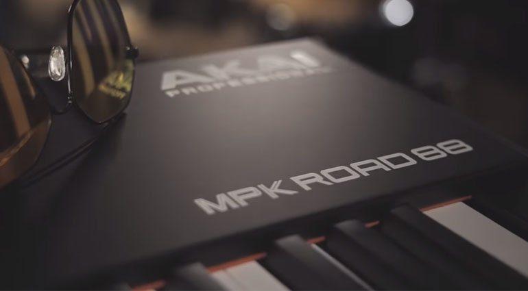 NAMM 2019: Akai Pro MPK Road 88 - ein Stage Piano für die Tour
