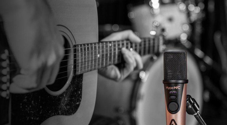 Gitarrenaufnahme mit dem Apogee HypeMiC