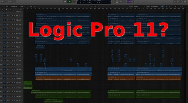 Apple Logic Pro 11 Update