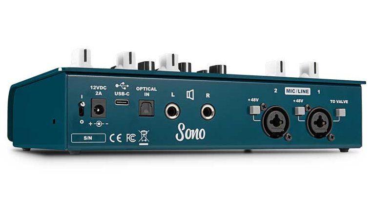 Audient Sono USB Guitar Interface Rueckseite
