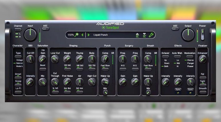 NAMM 2019: Audified ToneSpot - Bassisten können schon mal den Rechner anschmeißen!