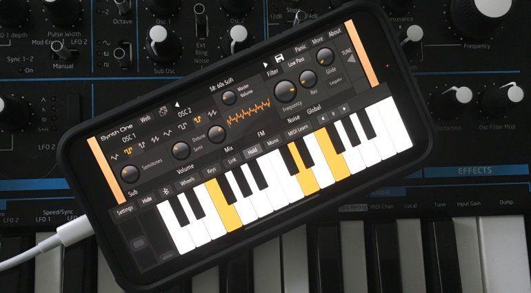 Kostenloser iOS Synthesizer Synth One jetzt auch für iPhone und weitere Features