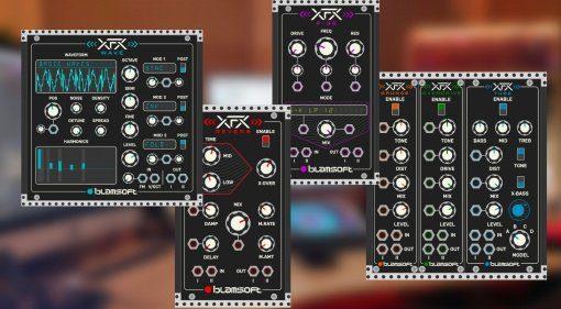 Blamsoft verschenkt alle XFX-Module für VCV Rack!