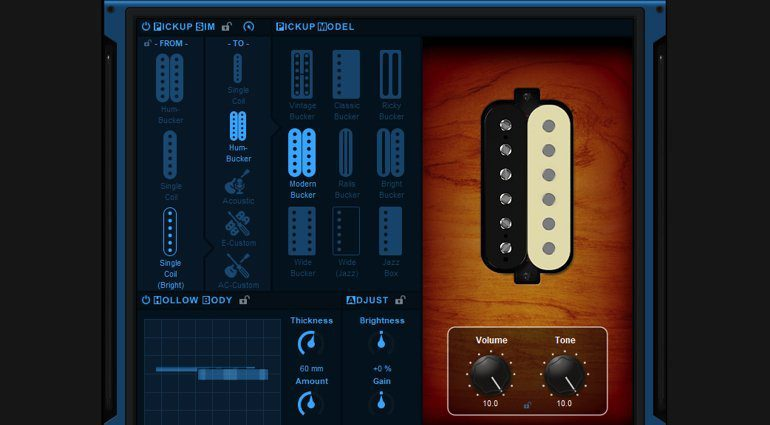 NAMM 2019: Blue Cat Audio Re-Guitar - virtuelle Pickups für deine Gitarre