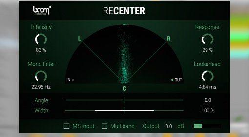 Boom Library veröffentlicht ReCenter - der Stereo-Fixer