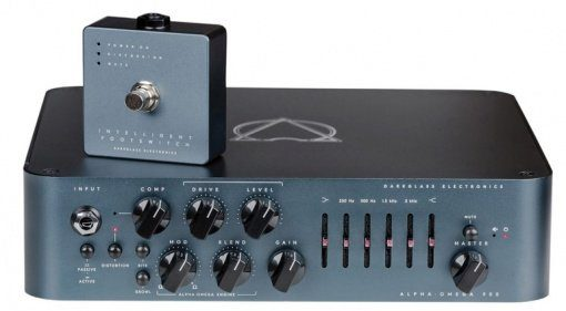 Darkglass Alpha Omega 900 Topteil Amp Bass