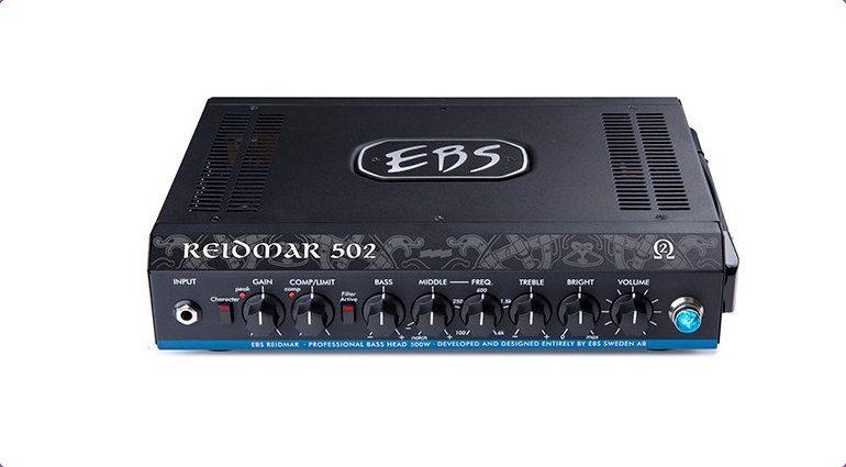 EBS Reidmar 502 Topteil Amp