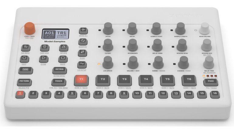 Elektron Model:Samples - Neues Gerät mit Sampling und 12 Knöpfen für den Echtzeitzugriff und sehr leicht.