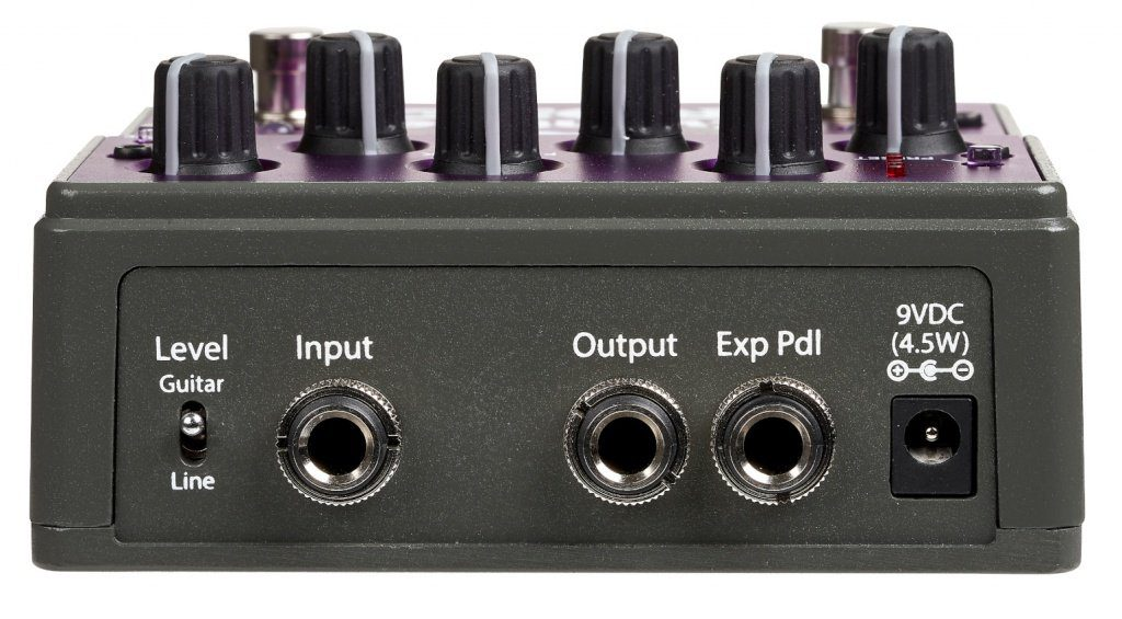 Eventide Rose Digital Delay Effekt Pedal Back