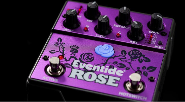 Eventide Rose Digital Delay Effekt Pedal Front