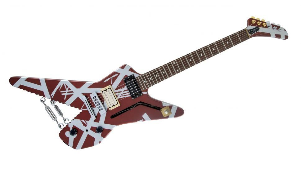 EVH-Striped-Series-Sharkin-Burgandy-Schwinn-with-Silver-stripes