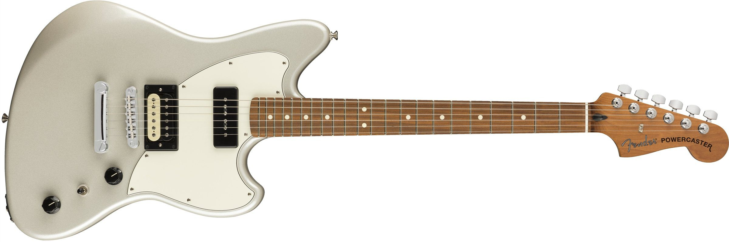 Fender-Alternate-Reality-Powercaster White Opal