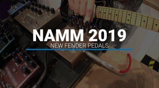 Fender Effekt PEdale Video Sound NAMM 2019