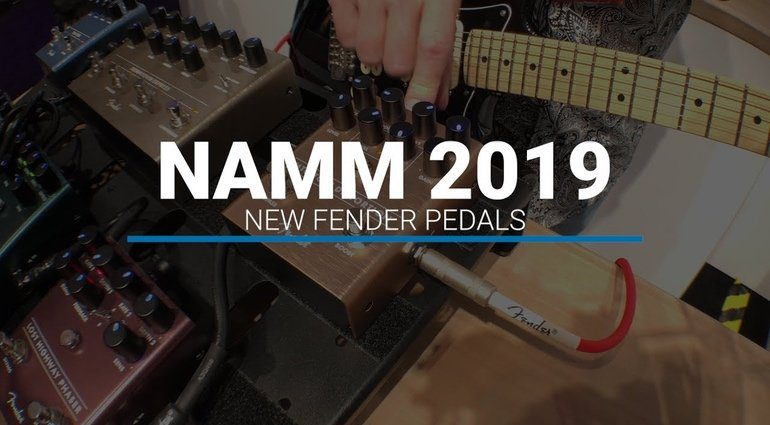 Fender Effekt PEdale Video Sound NAMM 2019