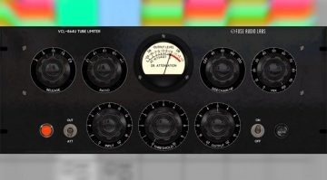Fuse Audio Labs VCL-864U - ein Tube Limiter/Kompressor des Militärs