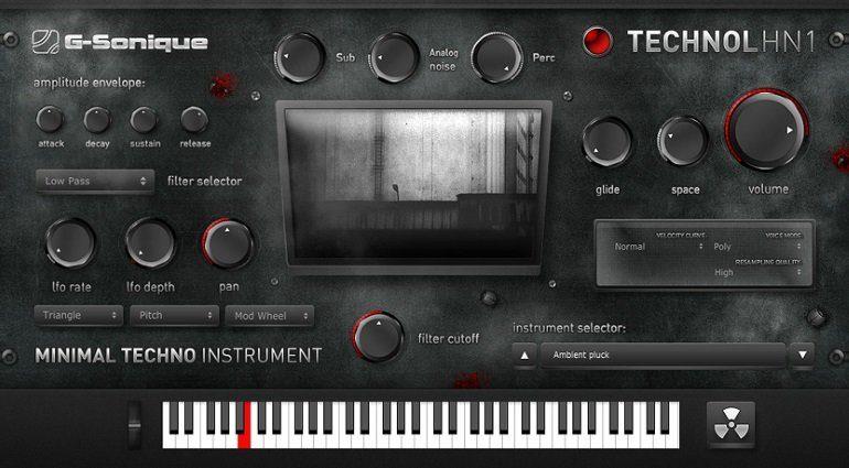 Mehr Techno mit dem TECHNOL HN1 Rompler von G-Sonique