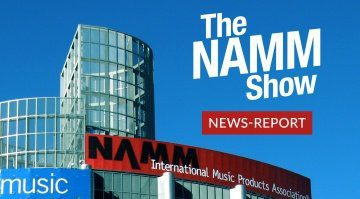 Gearnews Namm Report teaser bild anaheim convention center outside