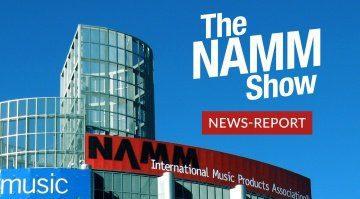 Gearnews Namm Report teaser bild anaheim convention center outside