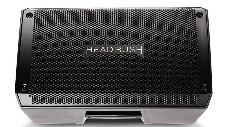 Headrush FRFR 108 Fullrange Box Gitarre Bass NAMM 2019 Front