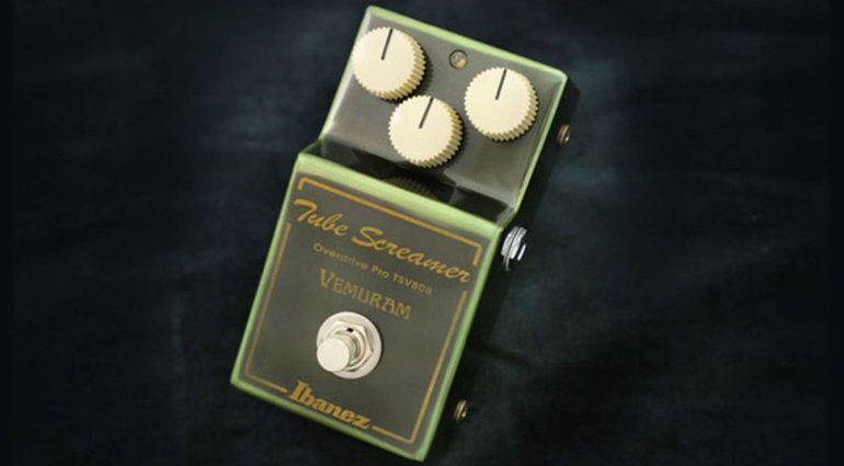 Ibanez-and-Vemuram-TSV808-pedal-