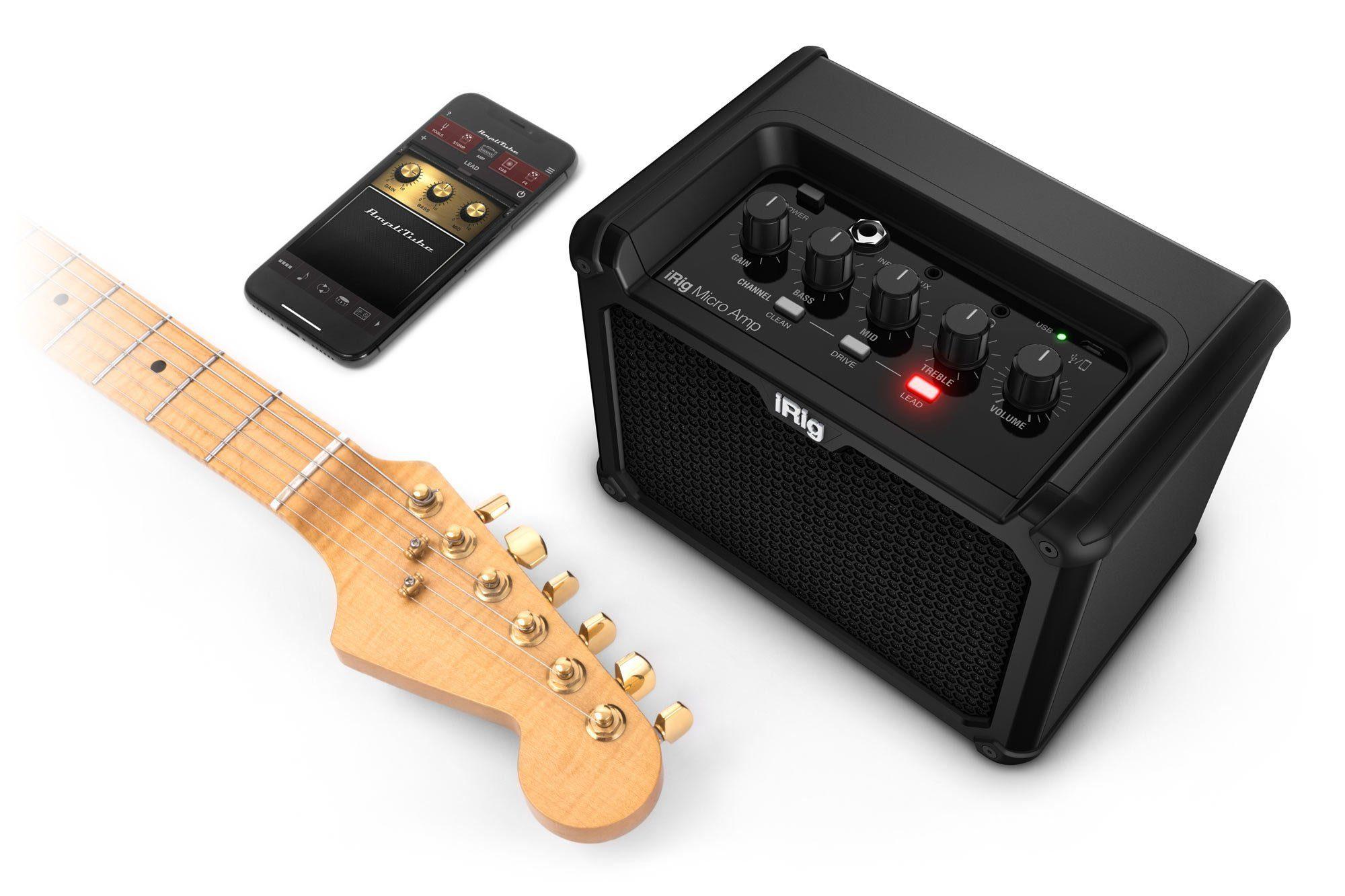 ik multimedia irig micro amp set