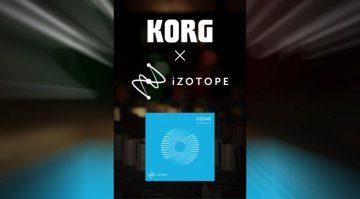NAMM 2019: Korg und iZotope verkünden Zusammenarbeit