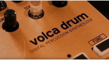 Korg Volca Drum Digital Percussion Synthesizer Close Up