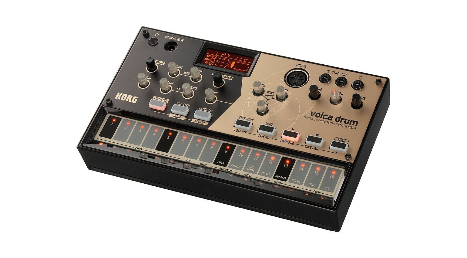 Korg Volca Drum Digital Percussion Synthesizer