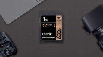 Höher, schneller, weiter - die erste ein Terabyte SD-Karte ist da!