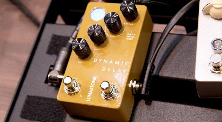NAMM 2019: Lunastone Dynamic Delay