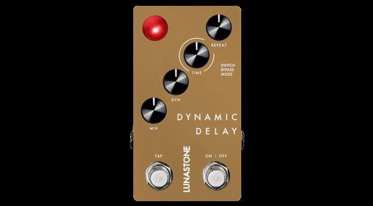 Lunastone Dynamic Delay Pedal Effekt Digital
