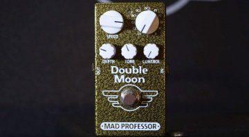 Mad Professor Double Moon Modulation Chorus Flanger Vibrato Effekt Pedal