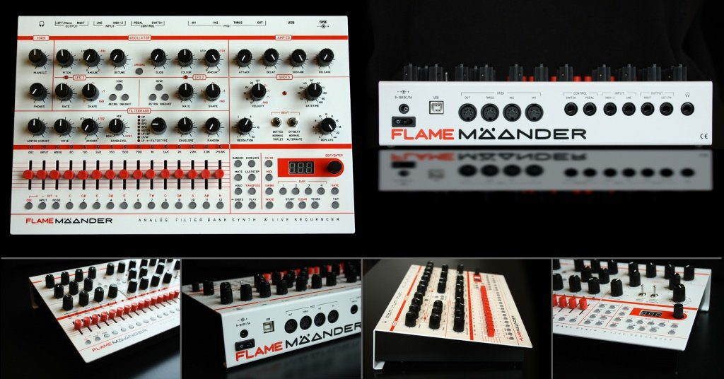 flame mäander synth