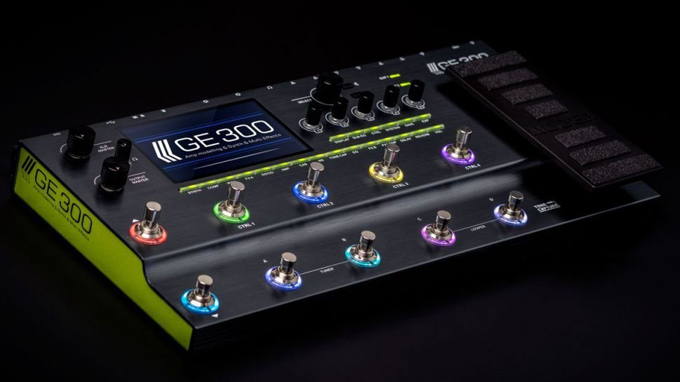 Mooer-GE300-Prototype-at-NAMM-2019
